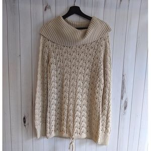 Ruff Hewn cowlneck slouchy sweater